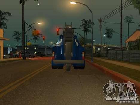 MAN F2000 (mit CLEO-Skript) für GTA San Andreas Rückansicht