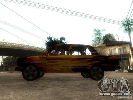 VAZ 2106 du jeu S.T.A.L.K.E.R. pour GTA San Andreas laissé vue