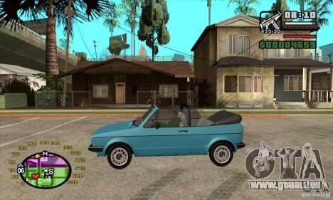 Tachometer für GTA San Andreas