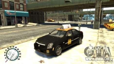 Cadillac CTS-V Taxi für GTA 4