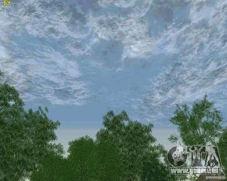 Nouveaux nuages pour GTA San Andreas