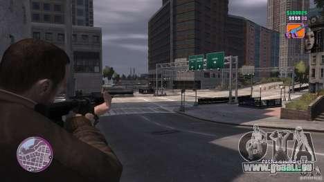 VC Style Radar/HUD (2 Skins) für GTA 4