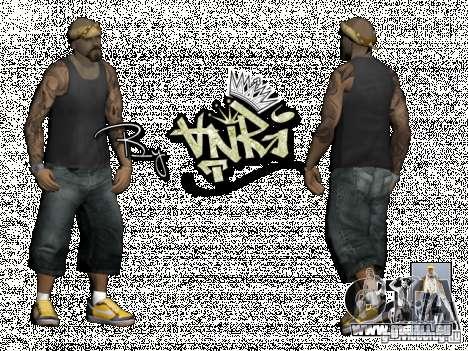 Gagns skinpack by AnRi pour GTA San Andreas troisième écran