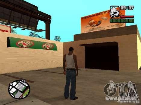 Magnet-Geschäfte für GTA San Andreas fünften Screenshot