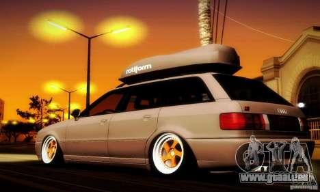 Audi RS2 Avant Thug pour GTA San Andreas laissé vue