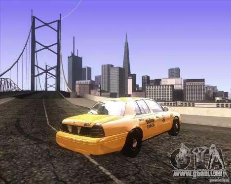 Enbsereis 0.74 Dark pour GTA San Andreas troisième écran