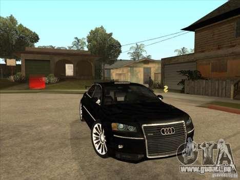 Audi A8 Tuned für GTA San Andreas Rückansicht