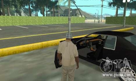 Cadillac Eldorado 1996 für GTA San Andreas Rückansicht
