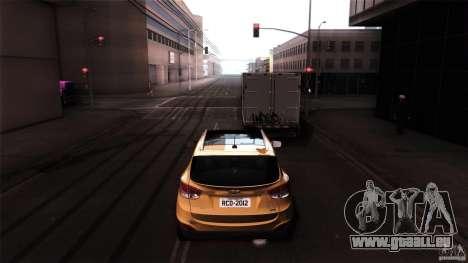 Hyundai iX35 Edit RC3D pour GTA San Andreas vue de droite