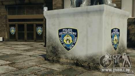 Remake second police station pour GTA 4 troisième écran