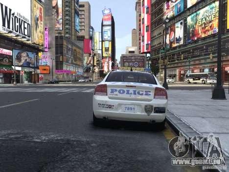 Dodge Charger NYPD für GTA 4 rechte Ansicht