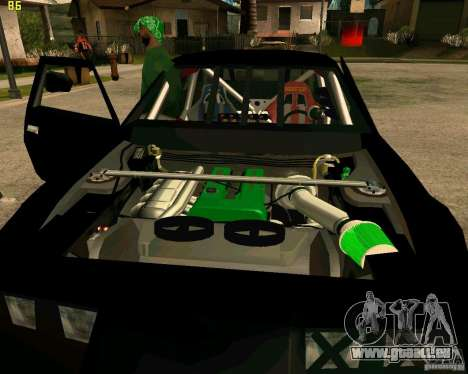 Hotring Racer Tuned für GTA San Andreas Unteransicht