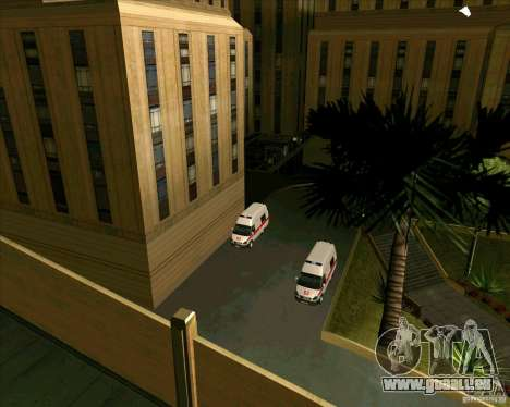 Véhicules stationnés v2.0 pour GTA San Andreas deuxième écran