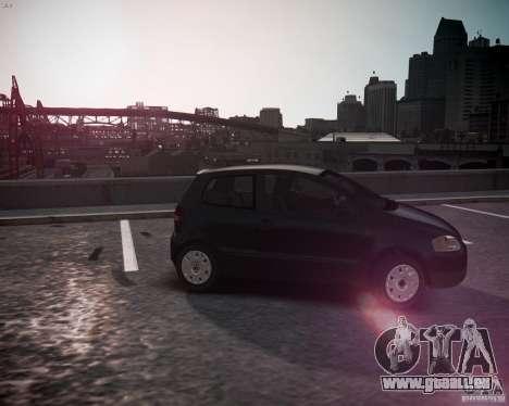 Volkswagen Fox 2011 pour GTA 4 est une gauche