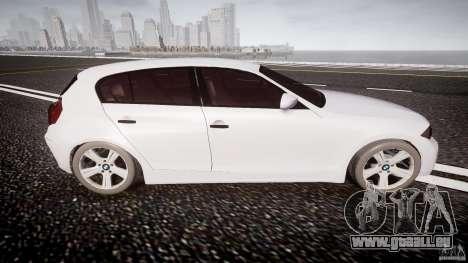 BMW 118i für GTA 4 Seitenansicht
