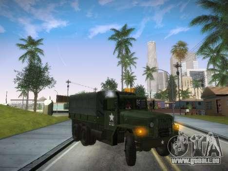 AM General M35A2 pour GTA San Andreas laissé vue