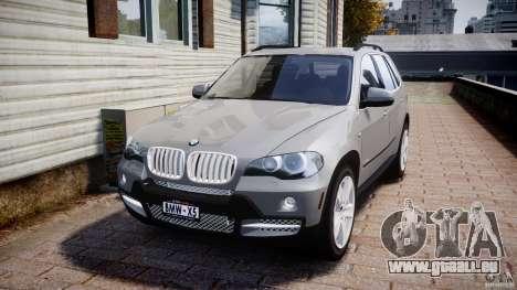BMW X5 xDrive 4.8i 2009 v1.1 pour GTA 4