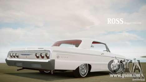 Chevrolet Impala SS 1964 für GTA 4 hinten links Ansicht