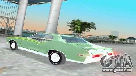 Pontiac GTO The Judge 1969 für GTA Vice City rechten Ansicht