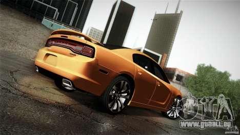 Dodge Charger SRT8 2012 für GTA San Andreas Seitenansicht