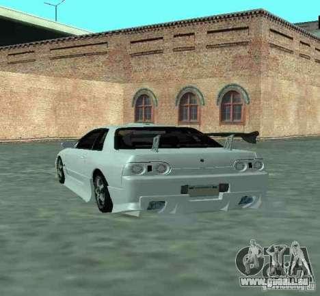 Nissan Skyline R32 GT-R pour GTA San Andreas vue arrière