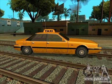 Intruder Taxi pour GTA San Andreas vue de droite