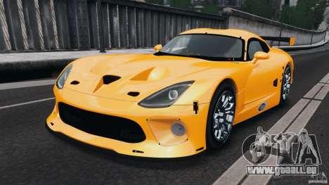 SRT Viper GTS-R 2012 v1.0 pour GTA 4