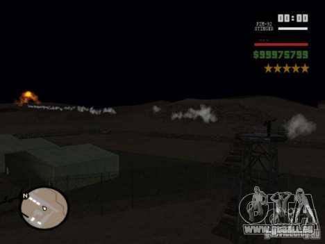 javelin and stinger mod für GTA San Andreas zweiten Screenshot