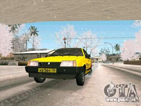 VAZ 21093i TMK Afterburner pour GTA San Andreas vue arrière