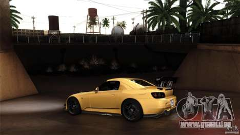 Honda S2000 JDM pour GTA San Andreas vue arrière