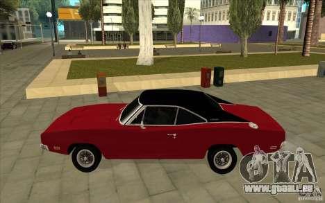Dodge Charger R/T 1969 für GTA San Andreas linke Ansicht