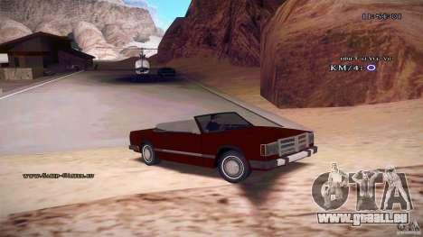 Feltzer HD pour GTA San Andreas