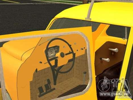 ZAZ 965M pour GTA San Andreas sur la vue arrière gauche