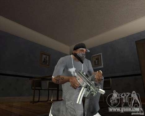 Jarra Mono Arsenal v1.2 für GTA San Andreas her Screenshot