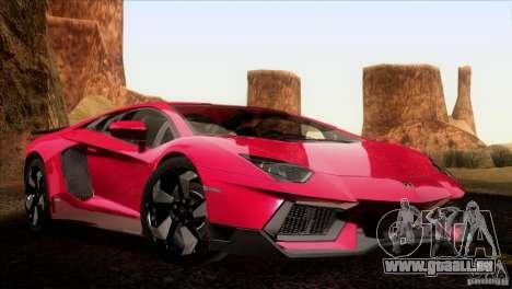 Lamborghini Aventador LP-700 J für GTA San Andreas