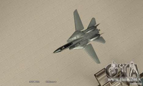 F14W Super Weirdest Tomcat Skin 2 pour GTA San Andreas vue de droite