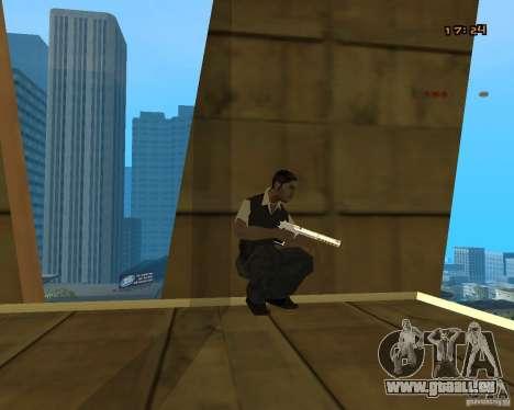 Chrome Desert Eagle für GTA San Andreas zweiten Screenshot