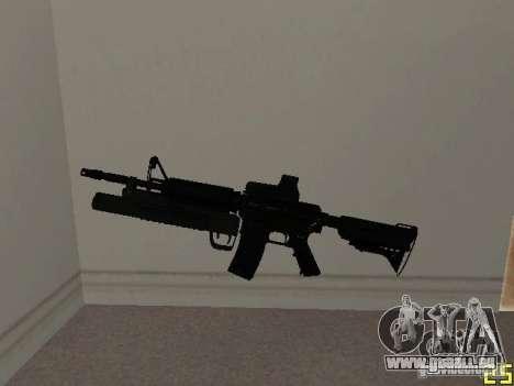 M4 MOD v3 pour GTA San Andreas