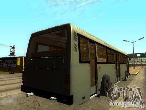 LAZ 525270 pour GTA San Andreas sur la vue arrière gauche