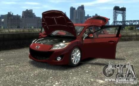Mazda Speed 3 2010 pour GTA 4 est un droit