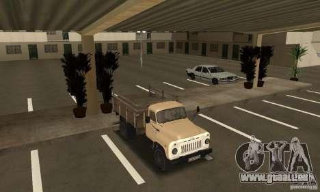 Gaz-52 pour GTA San Andreas vue intérieure