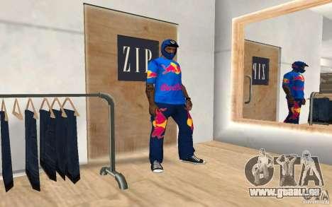 Red Bull Clothes v2.0 für GTA San Andreas