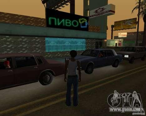 Russian shop pour GTA San Andreas troisième écran