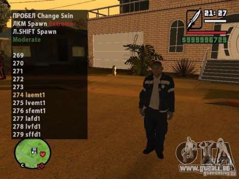 GTA IV peds to SA pack 100 peds für GTA San Andreas fünften Screenshot