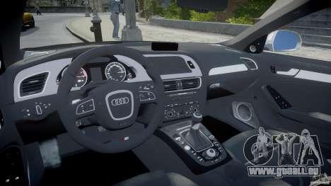 Audi S4 Unmarked [ELS] pour GTA 4 est un droit
