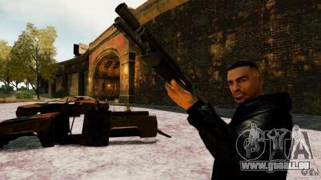 Marshall de Crysis 2 pour GTA 4 quatrième écran