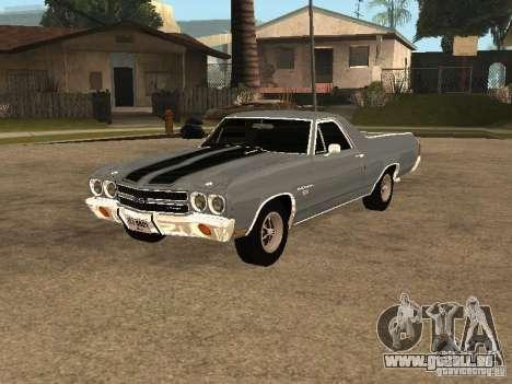 Chevrolet El Camino SS 454 1970 für GTA San Andreas
