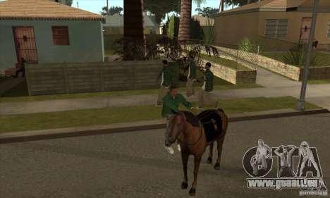 Cheval pour GTA San Andreas sixième écran