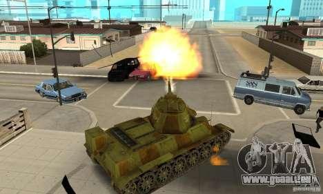 Panzer T-34/76 für GTA San Andreas rechten Ansicht