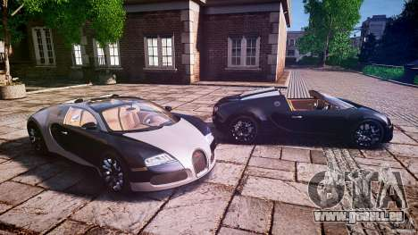 Bugatti Veyron Grand Sport [EPM] 2009 pour GTA 4 est une vue de dessous